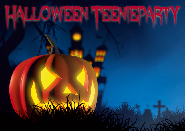 Halloween Teenieparty 26.10.
